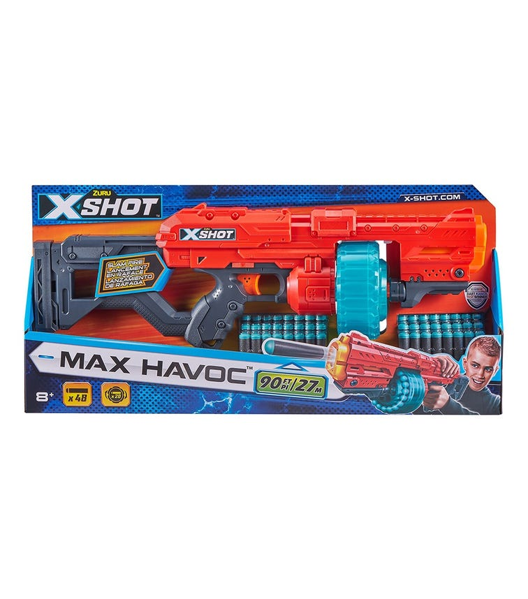 X-SHOT Excel - Max Havoc (48 Darts)