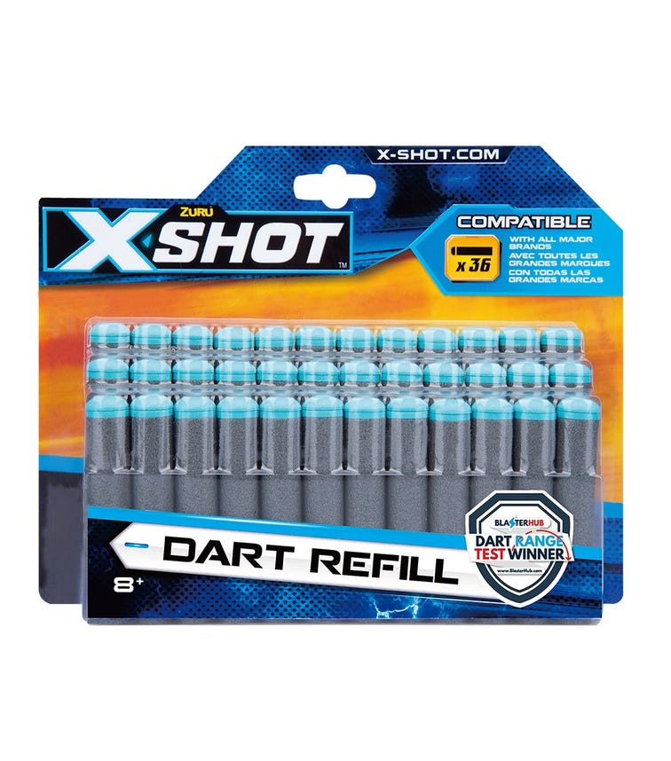 X-SHOT Excel Darts Refill Pack Of 36