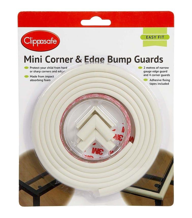 CLIPPASAFE Mini Corner & Edge Bump Guards - Cream
