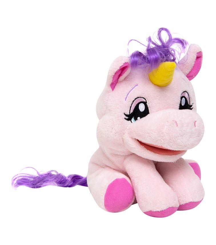 DISNEY PRINCESS Alive Jr Play & Say Puppets Unicorn Unabelle