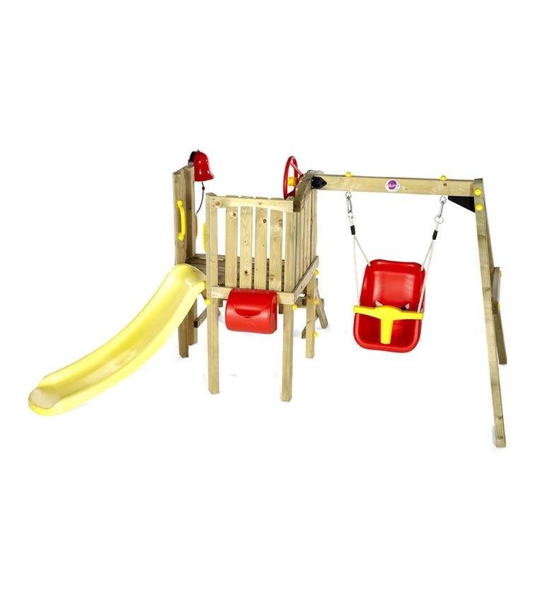 PLUM Toddlers Tower Wooden Climbing Frame