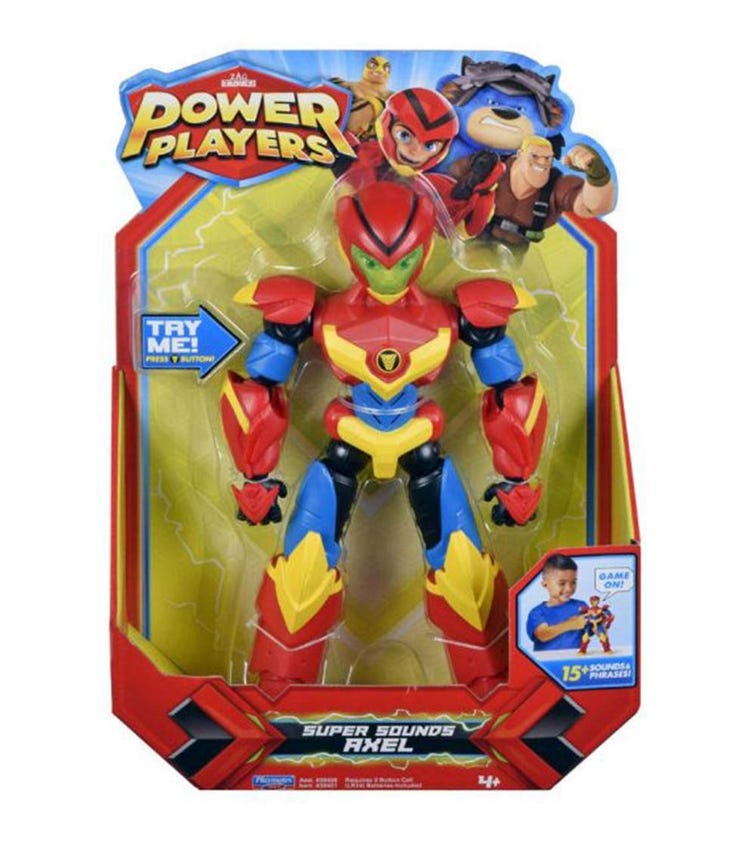 POWER PLAYERS Deluxe Figure Assorted