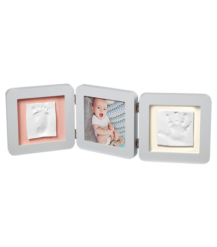 BABY ART My Baby Touch Double Print Frame - Pastel
