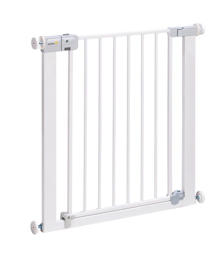 SAFETY 1st U-Pressure Fit - Auto Close Door Gates - White
