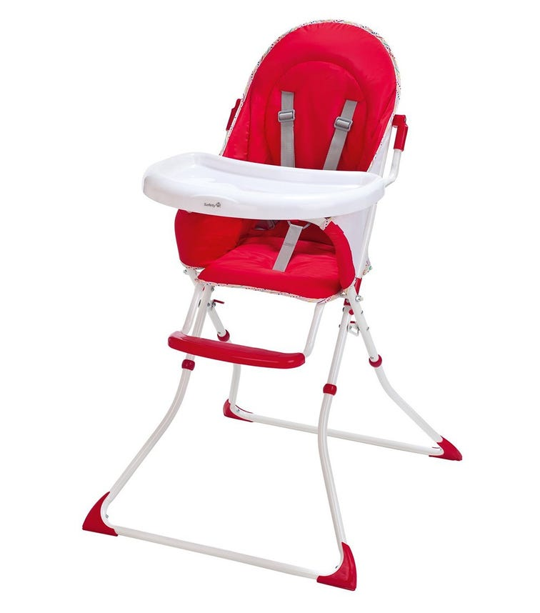 SAFETY 1st Kanji Highchair Red Lines