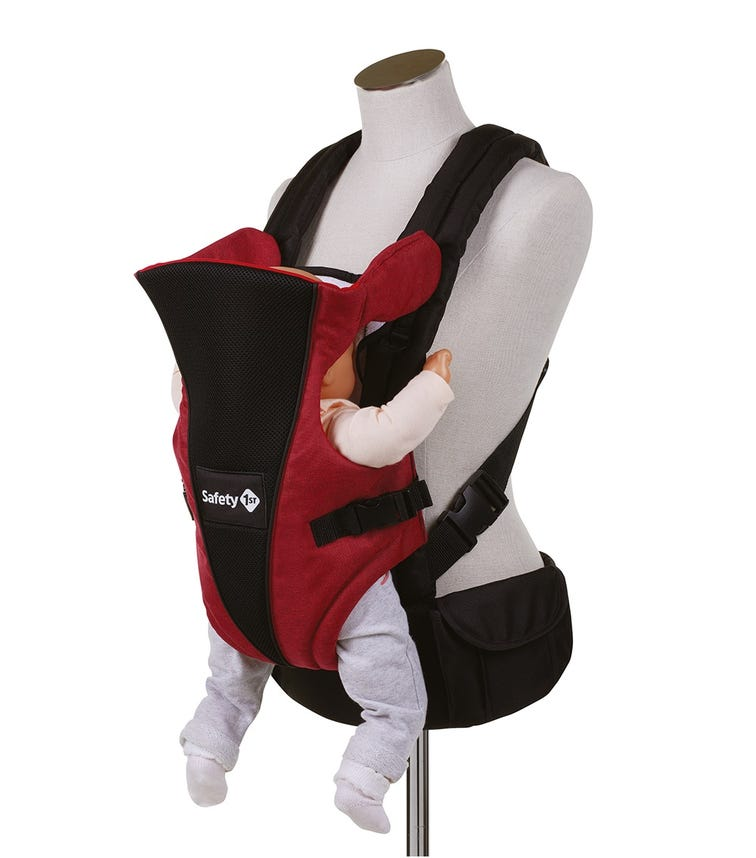 SAFETY 1st Uni-T Baby Carrier Ribbon Red Chic