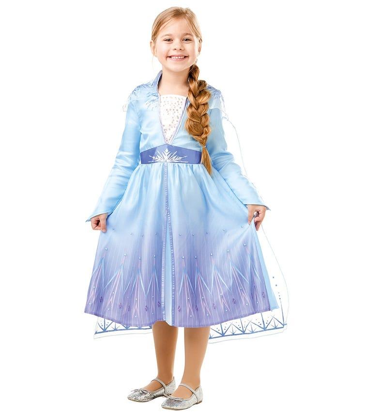 RUBIES Frozen 2-Elsa Travel Dress Classic