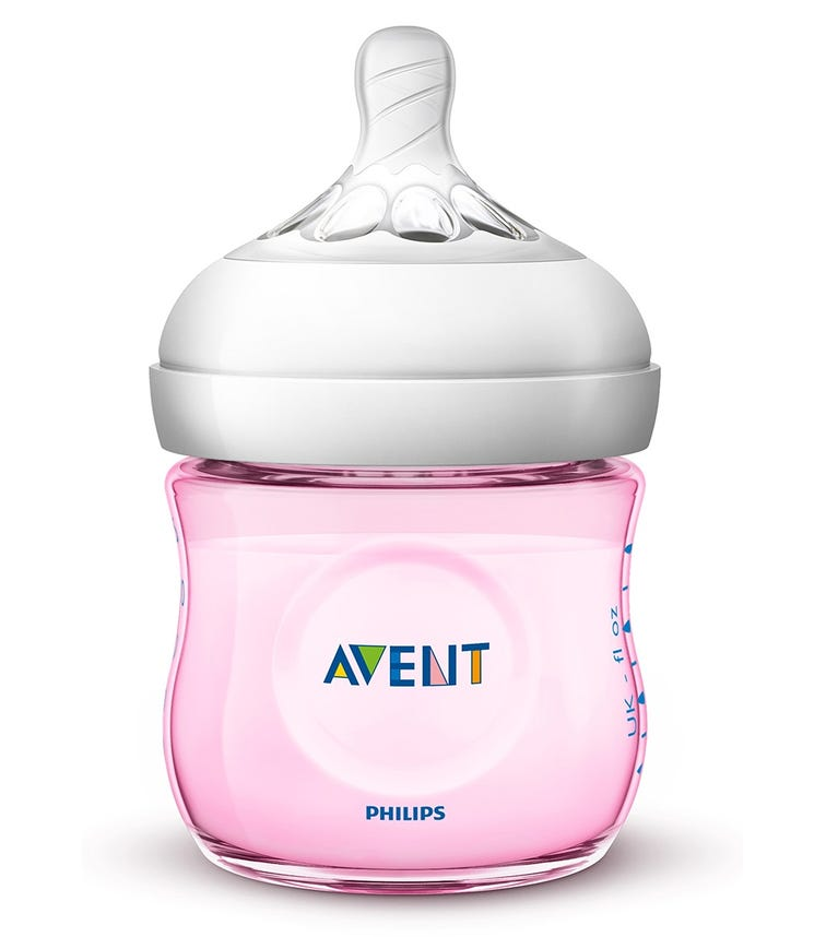 PHILLIPS AVENT Natural 2.0 Bottle 125 ML X1 Pink