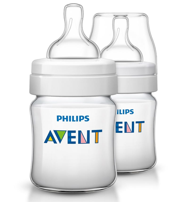 PHILLIPS AVENT Classic Plus Bottle 125 ML X2