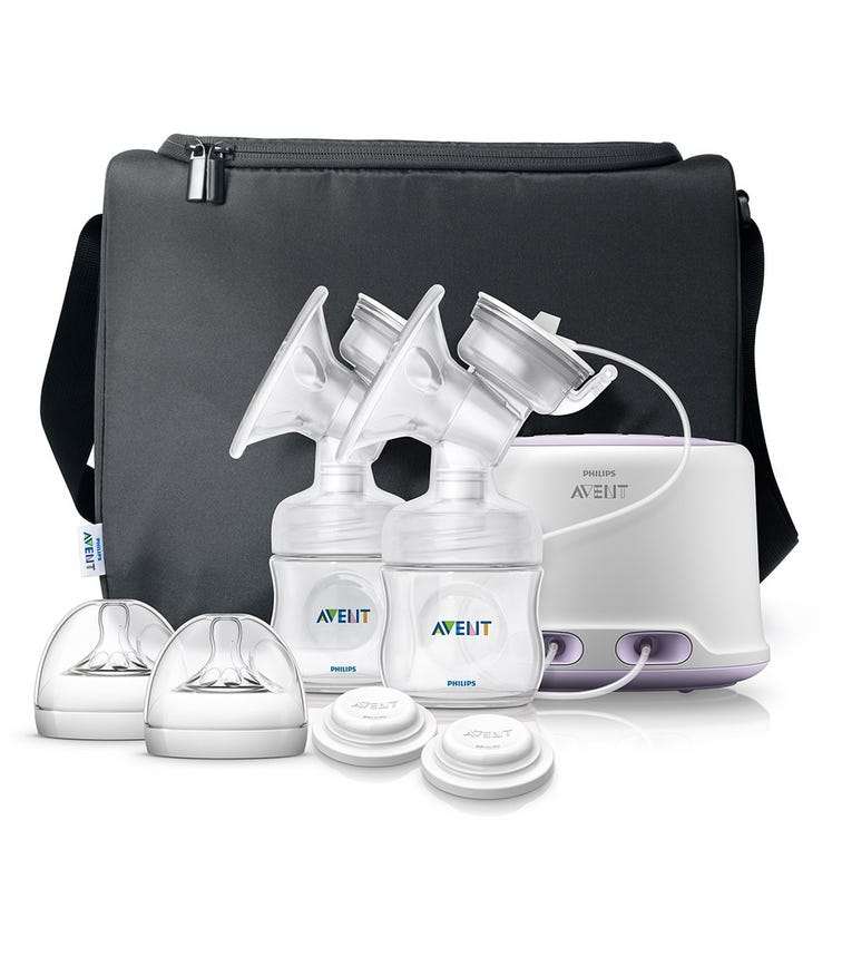 PHILLIPS AVENT Breast Pump Electric Twin Natural Range