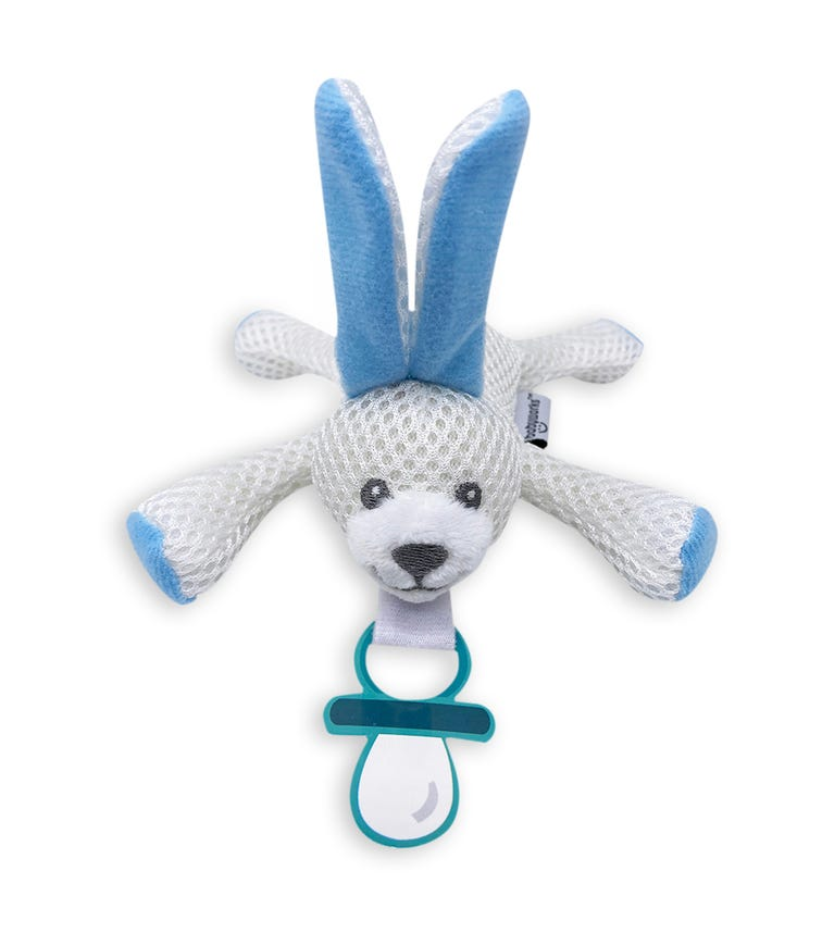BABY WORKS Bibipals Blue Bunny Breathable Billy