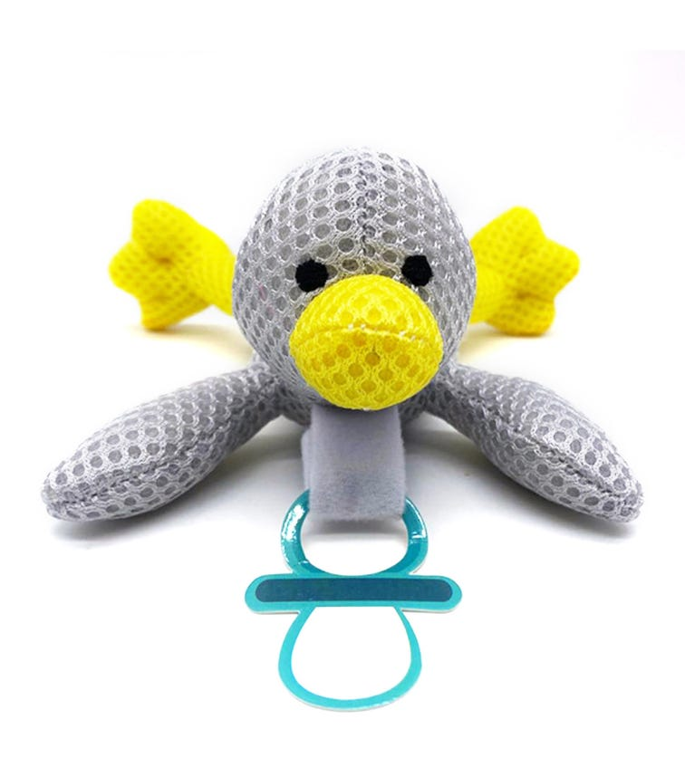 BABY WORKS Bibipals Grey Duck Breathable Quack