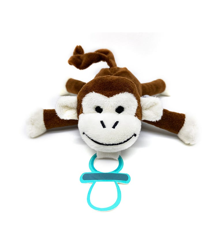 BABY WORKS Bibipals Cheeky Monkey Premium Plush Miki