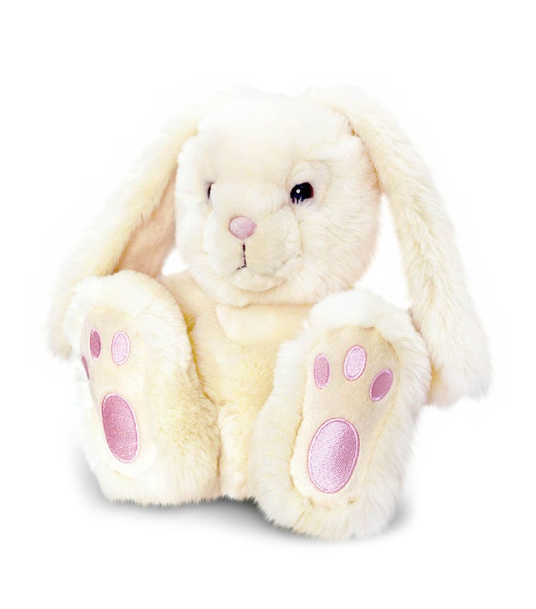 KEEL TOYS UK 25 cm Patchfoot Rabbit Soft Toy Assorted