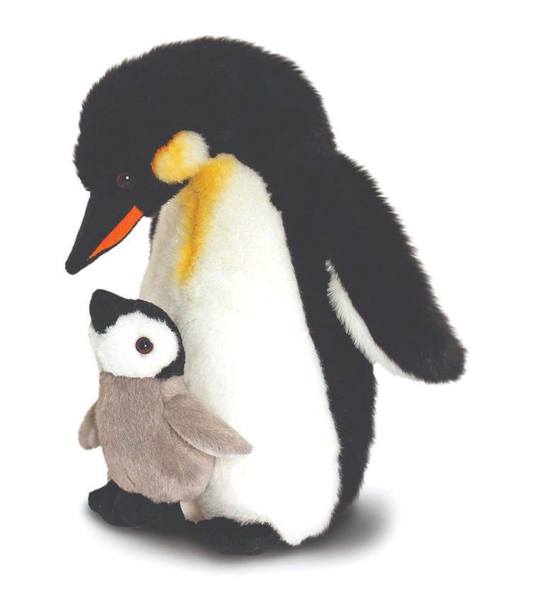 KEEL TOYS UK 30 cm Penguin Mother & Baby Soft Toy