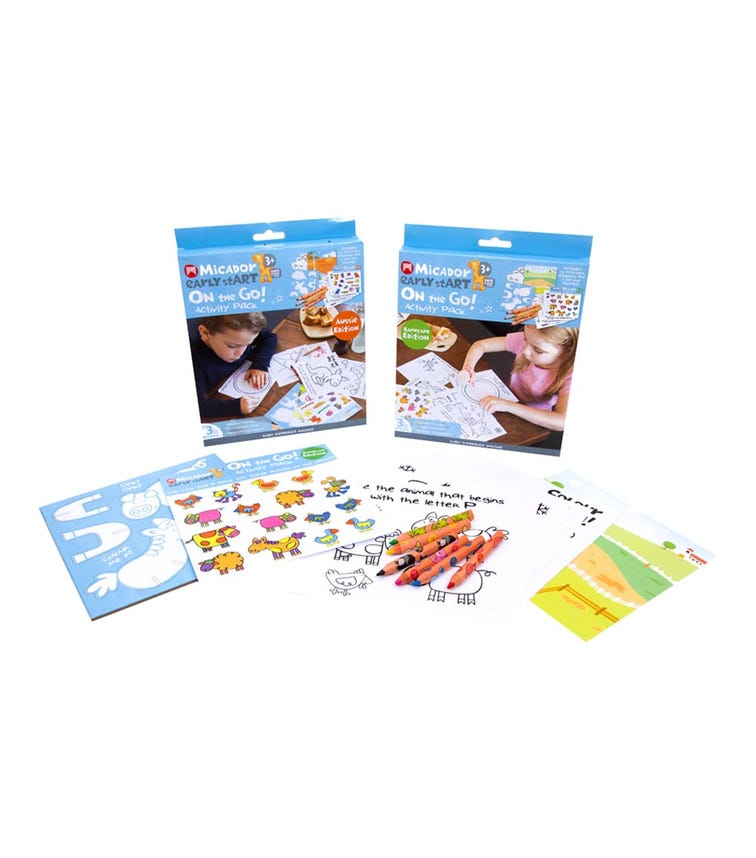 MICADOR On The Go Activity Pack - Aussie Edition Early Start Series (Assorted)