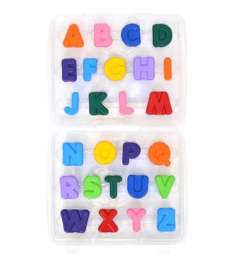 MICADOR Alphabet Crayons For Kids