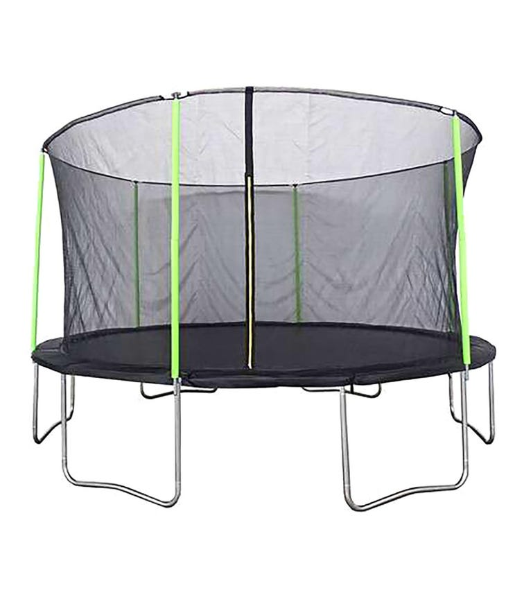PLUM Springsafe Fun Trampoline With Safety Enclosure (14ft)