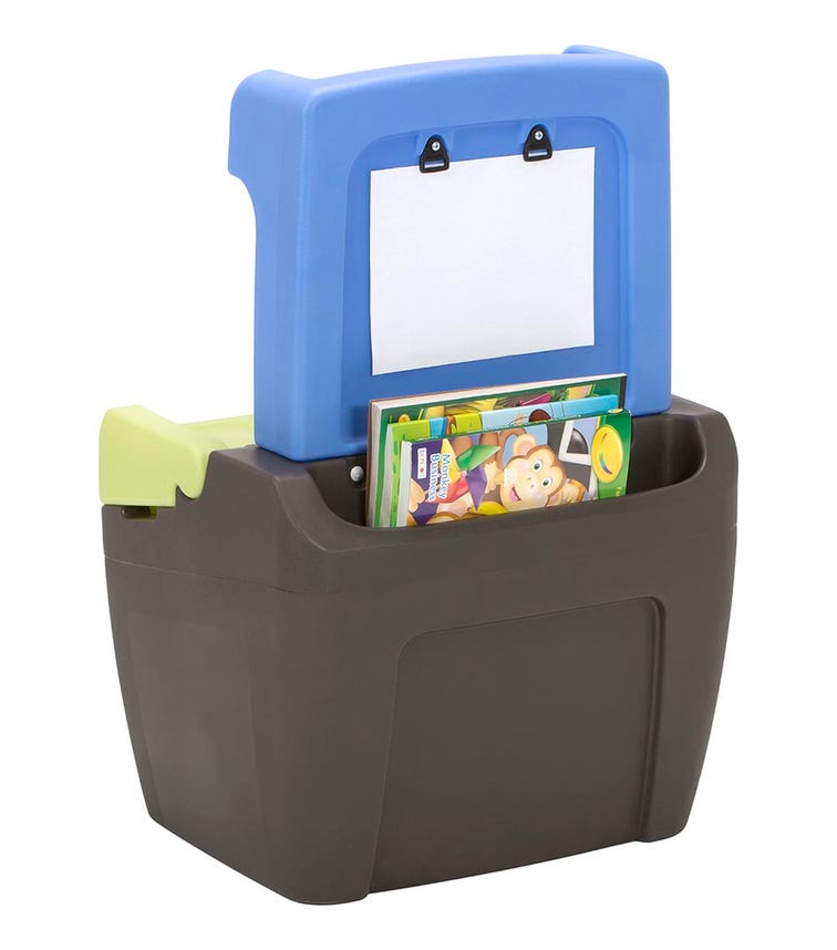 SIMPLAY3 2-In-1 Toy Box And Easel