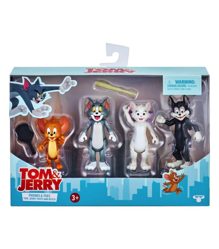 TOM & JERRY S1 3 Inch Figurine 4 Pack