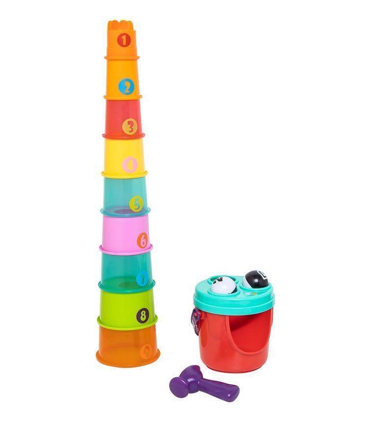 INFANTINO B-Kids 4 Giraffe Giant Stack N Drop
