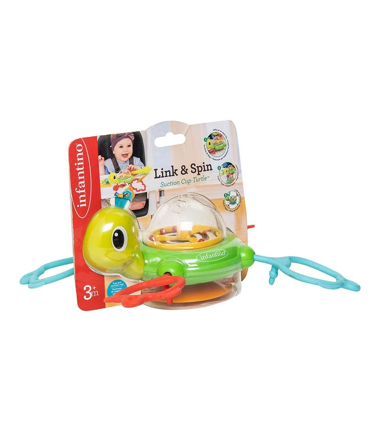 INFANTINO Link & Spin Suction Cup - Turtle