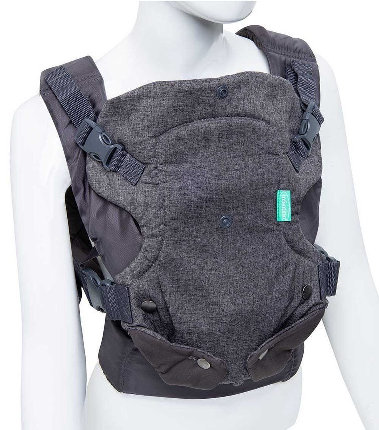 INFANTINO - Flip Advanced 4-In-1 Convertible Carrier - Grey