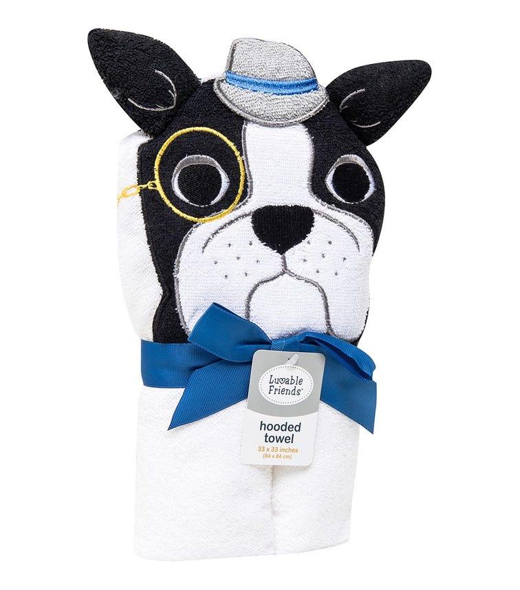 LUVABLE FRIENDS Animal Hooded Towel - Dog