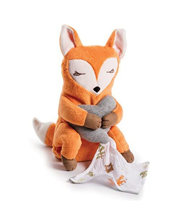 SUMMER INFANT Swaddle Me Little Heartbeats Fox