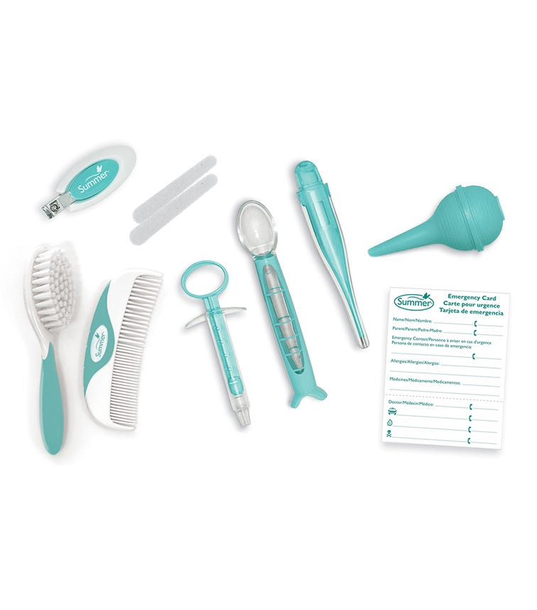 SUMMER INFANT Health And Grooming Kit Blue