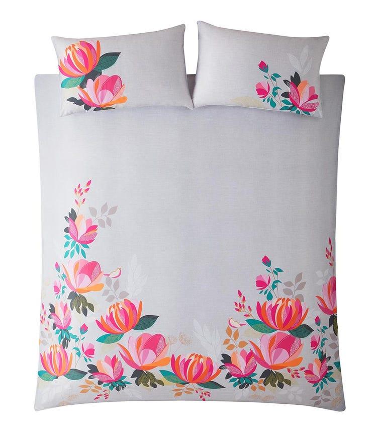 SARA MILLER Peony Petals Single Quilt Set (137x200cm)
