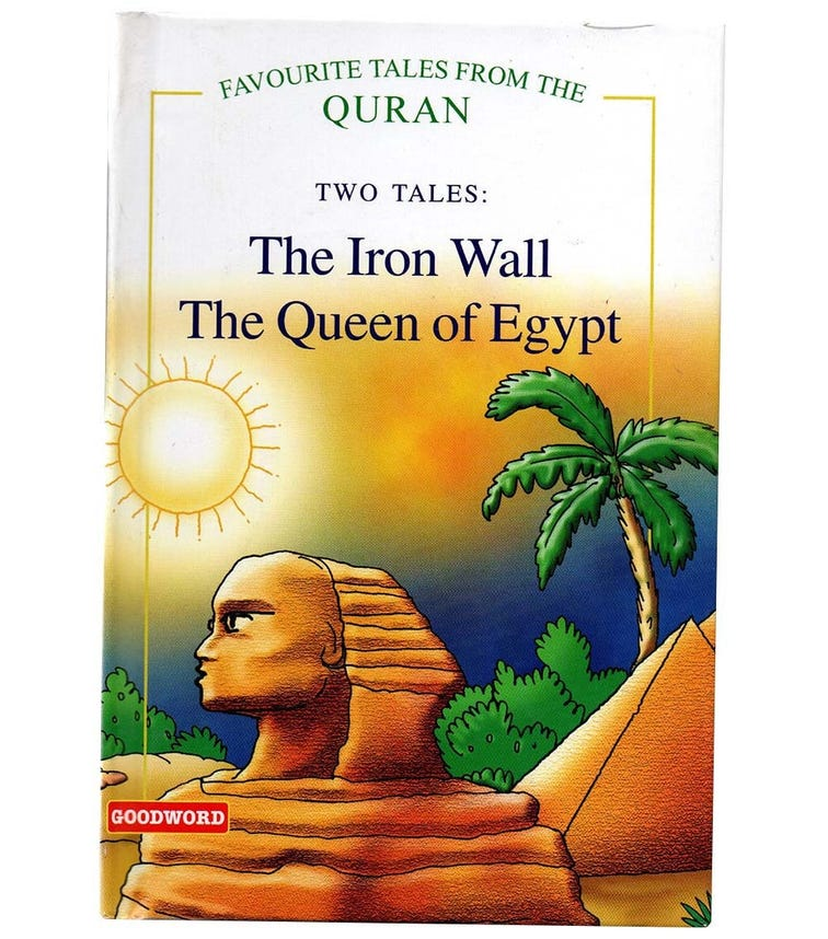 GOODWORD The Iron Wall, The Queen Of Egypt (Hardback Cover)