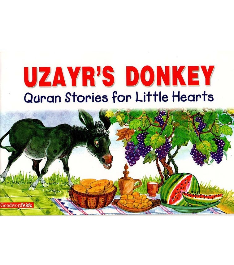 GOODWORD The Uzayr's Donkey (Paperback Cover)