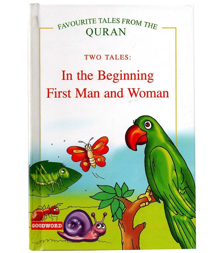 GOODWORD In The Beginning,  First Man And Woman (Hardback Cover)