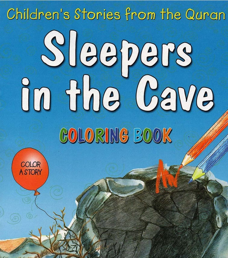 GOODWORD Sleepers In The Cave (Coloring Book)