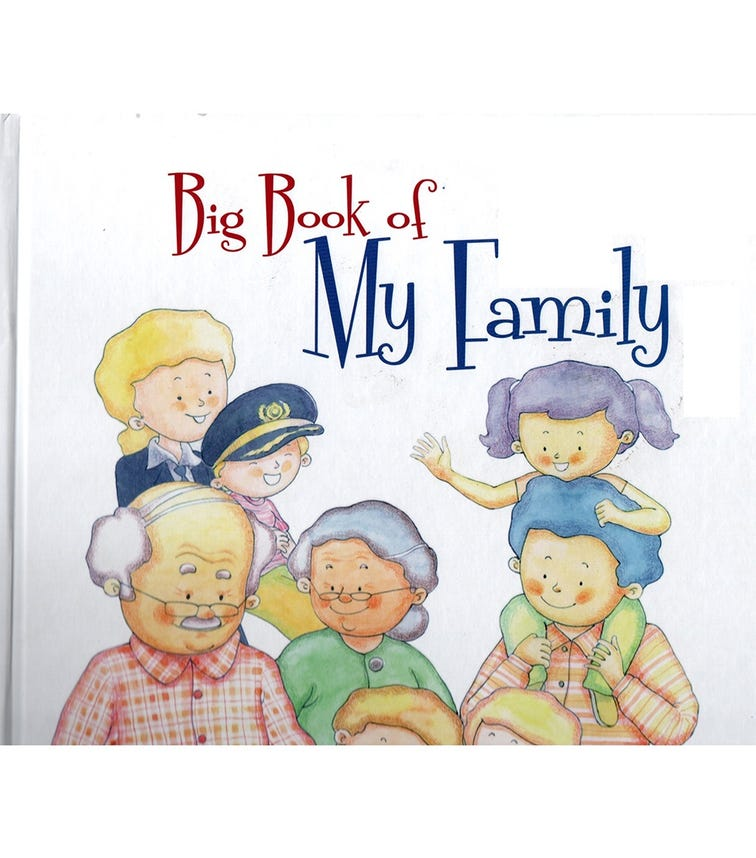 HOME APPLIED TRAINING Big Book Of My Family