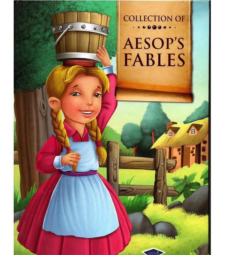 HOME APPLIED TRAINING Collection Of Aesop's Fables