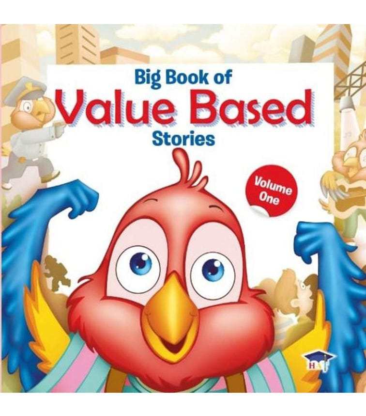 HOME APPLIED TRAINING Big Book Of Value Based Stories Volume 1