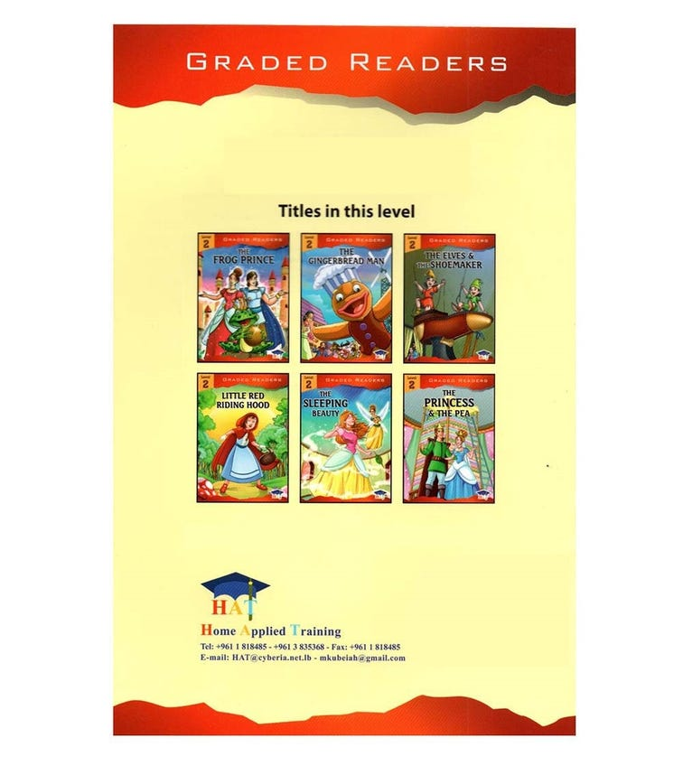 HOME APPLIED TRAINING Level 2 - 6 Story Books Set
