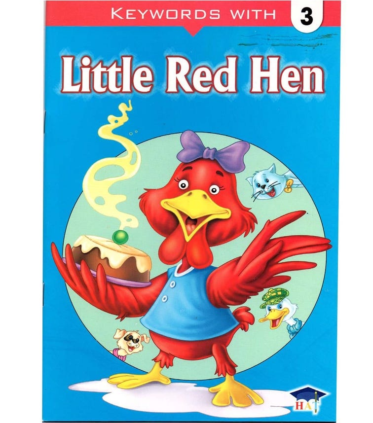 HOME APPLIED TRAINING Keywords With Little Red Hen