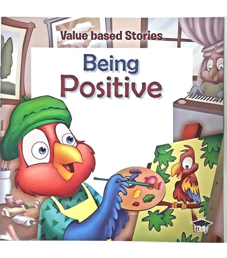 HOME APPLIED TRAINING Value Based Stories - Being Positive