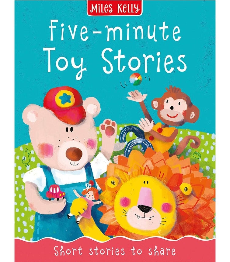 MILES KELLY Five-Minute Toy Stories, Short Stories To Share