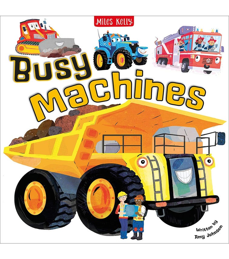 MILES KELLY Busy Machines