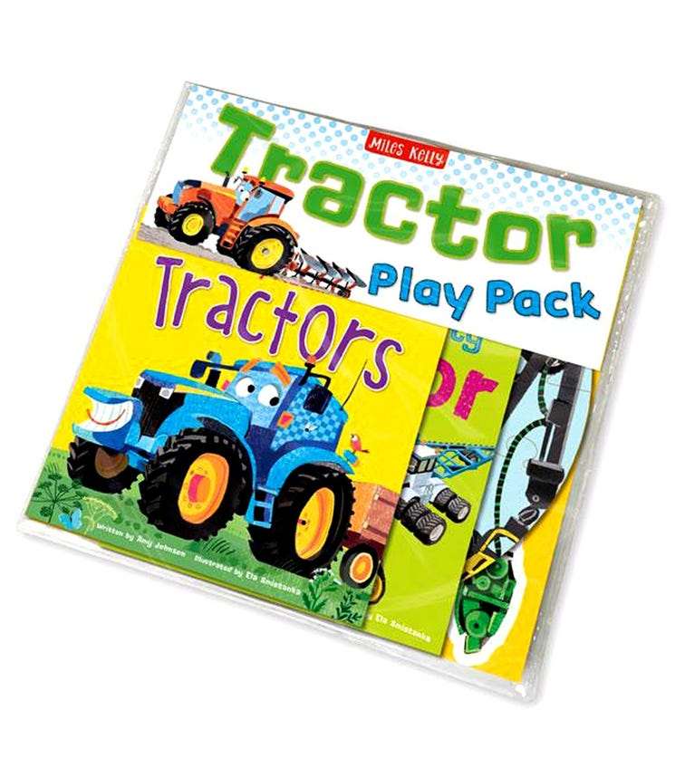 MILES KELLY Tractor Play Pack