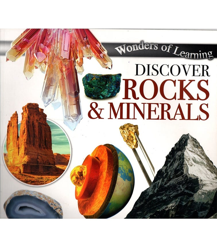 NORTH PARADE PUBLISHING Wonders Of Learning: Discover Rocks & Minerals