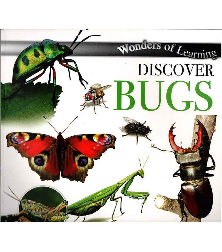NORTH PARADE PUBLISHING Wonders Of Learning: Discover Bugs