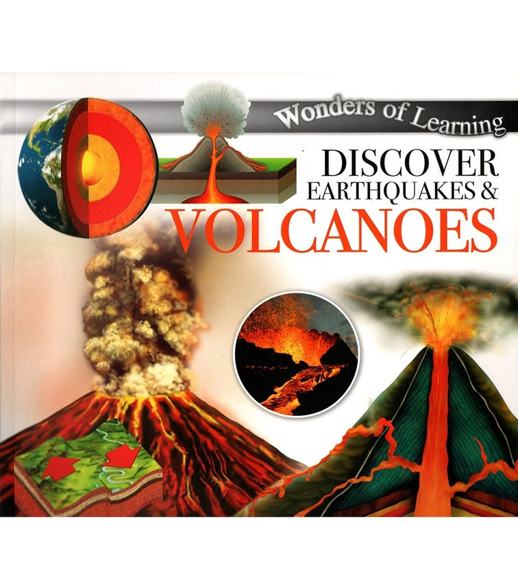 NORTH PARADE PUBLISHING Wonders Of Learning: Discover Earthquakes & Volcanoes