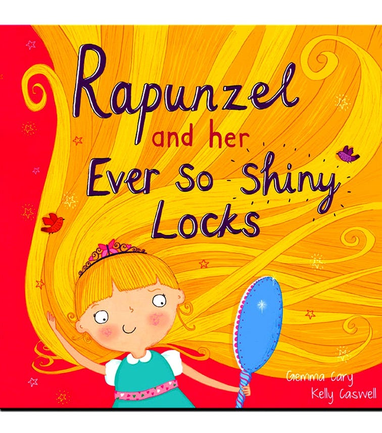 NORTH PARADE PUBLISHING Rapunzel And Her Ever So Shiny Locks