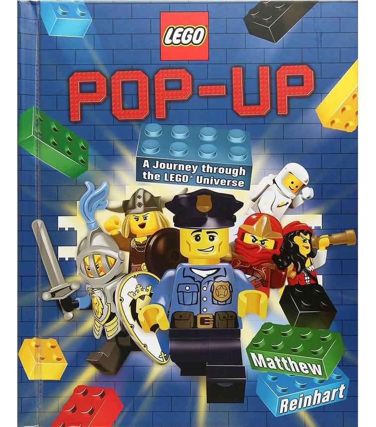 SCHOLASTIC Lego Pop-Up A Journey Through The Lego Universe