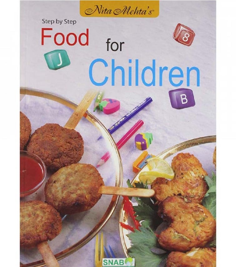 SNAB PUBLISHERS Step By Step Food For Children